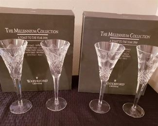 Waterford Millennium Goblets Collection