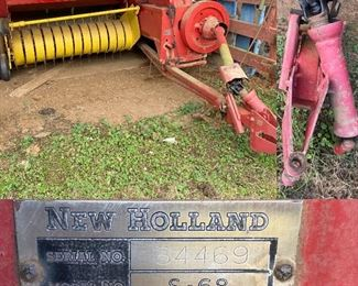 New Holland Hay Baler