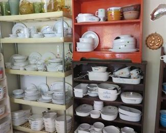 Corelle and Corning Ware
