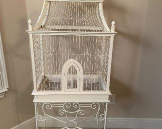 5 foot tall birdcage $100