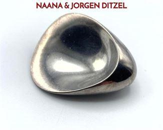 Lot 15 GEORG JENSEN 328 Sterling Silver NAANA  JORGEN DITZEL