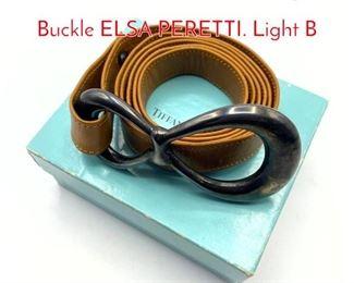 Lot 201 TIFFANY  Co Sterling Belt Buckle ELSA PERETTI. Light B