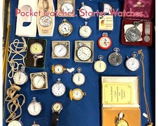 Lot 281 LOT R Large Lot Vintage Pocket watches. Starter Watches