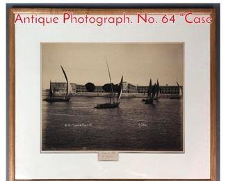 Lot 316 P SEBAH Scenic Coastal Antique Photograph. No