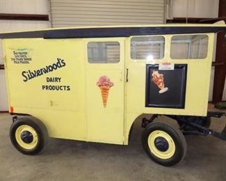 Horse/Vehicle drawn Milk Wagon