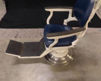 Fully adjustable antique Barber / Dentist chair