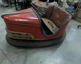 !940s' Dodgem Car. Hard to find and ready to be restored.
