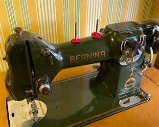 Antique Bernina in case. Works