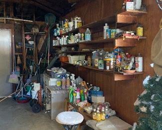 Garage goodies