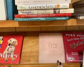 Garden and decorating books. Victoria, Better Homes and Gardens, Cottage style, Country style
