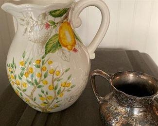 Lemon pitcher