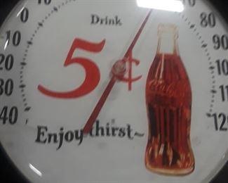 Enjoy Thirst Coca-Cola Thermometer