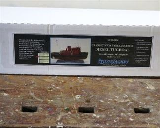Diesle Tugboat Model