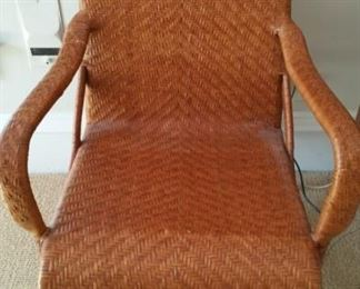 Picture perfect ratan arm chair