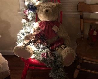 Huge Boyd's Bear's Christmas Decoration!!!