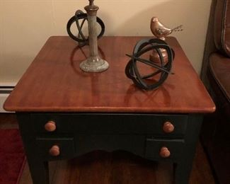 Country charm end tables