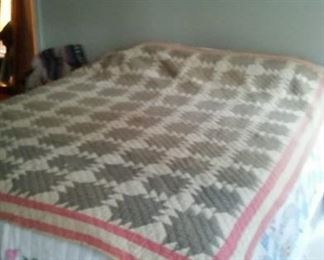 Early 1900's hand made quilt