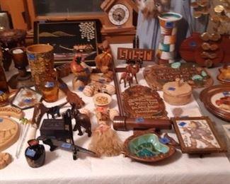 Vintage wood items