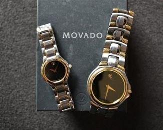 Men & Woman's Movado Watches