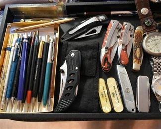 Vintage Pencils, Pocket Knives
