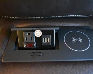 charging ports