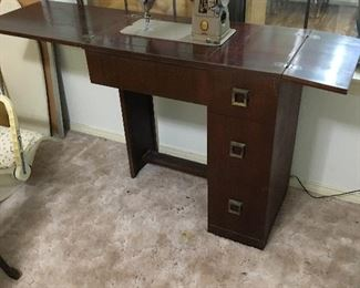 Mid century sewing machine