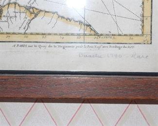 Bottom of Caribbean map