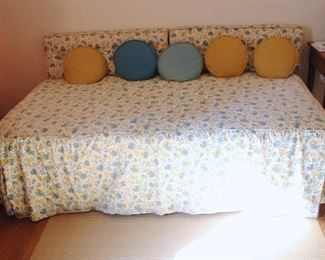 Daybed, one of two