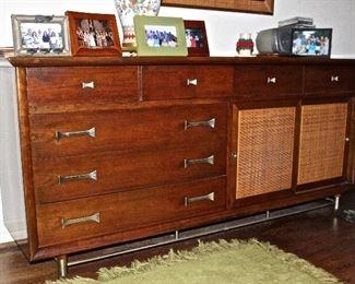 Mid Century double dresser