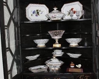 Lovely hand painted china