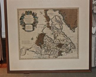 Another antique map of Canada
