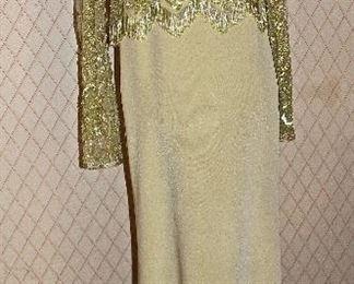 AMAZING beaded gown!