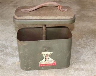 Vintage sportsman case