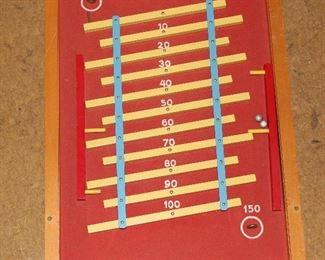 Tippecanoe wooden game