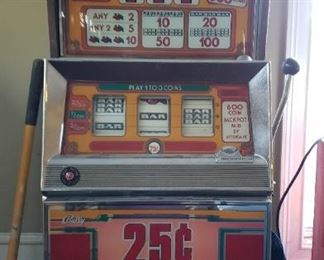 1970s slot machine, novelty purpose only