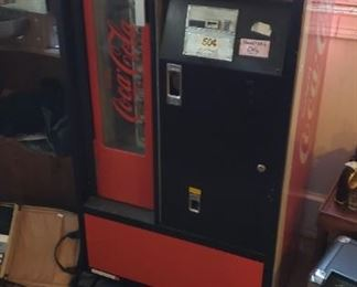 1970s coca cola machine works