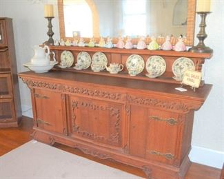 ANTIQUE CARVED BUFFET