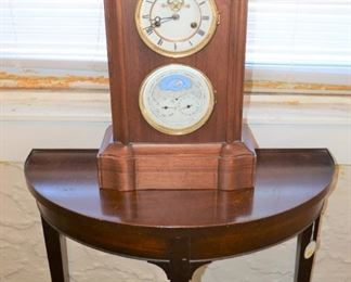 CLOCK WITH BAROMETER