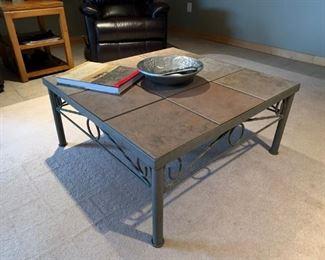 slate tile coffee table also end table & sofa table