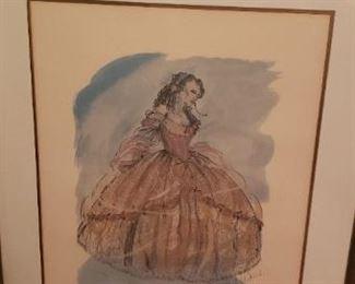 Disney's Belle print
