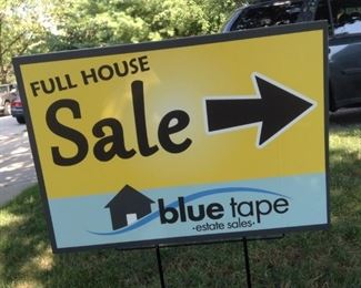 00 Full House SaleSign