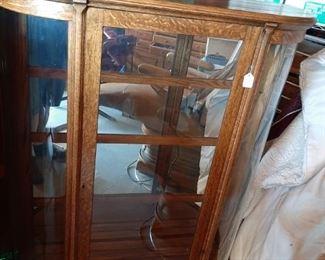 Anituque Oak Curio Cabinet