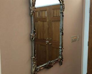 Nice large mirror.