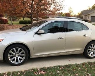 2015 Chevrolet Malibu 4 door sedan, 75,800 miles, one owner, in very good condition.