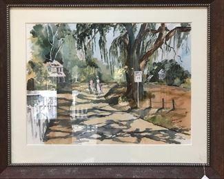 Original Elinor Barrett Watercolor