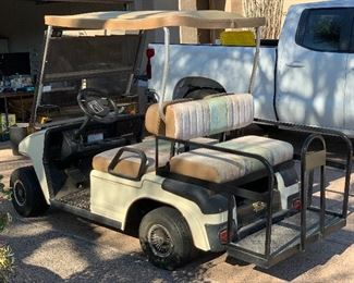 2001 Melex 625E Golf Cart Just checked over by a tech (please see pic of check list) Has a clean bill of health .. Rides great.. Batteries are 2 years old hold charge great!