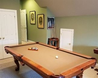 Kasson Pool Slate Pool Table...Available for Pre-Sell.  If interested call 704-307-1112