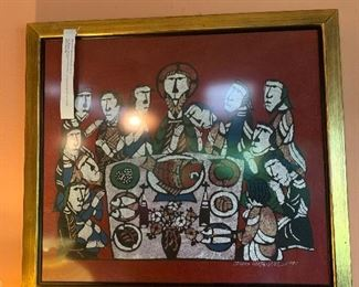 Limited edition artwork from  Sadao  Watanabe - The story  of Ruth