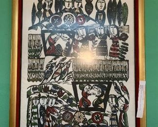 Limited addition the last supper from Sandao Watanabe