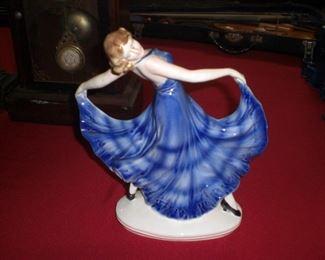 Erphilia Czecoslovakia art deco dancing woman
